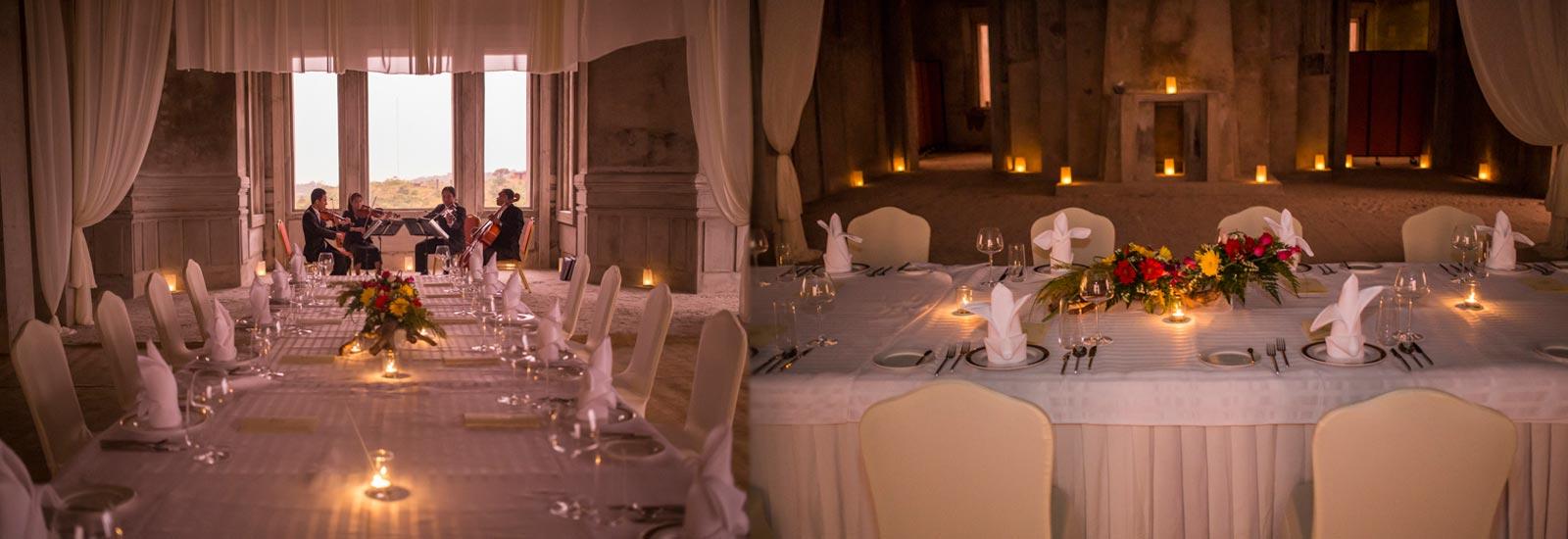 Le Bokor Palace Dinner